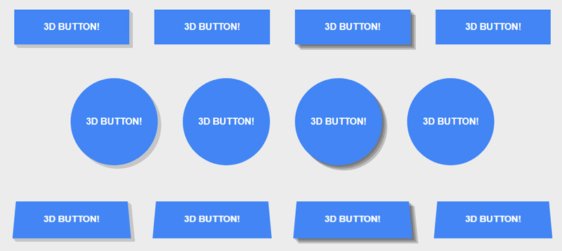 IMG: 3D Button Effects in CSS