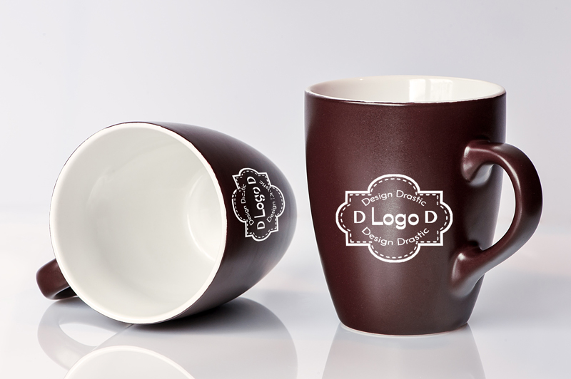 IMG: Coffee Mug Mockup With Logo