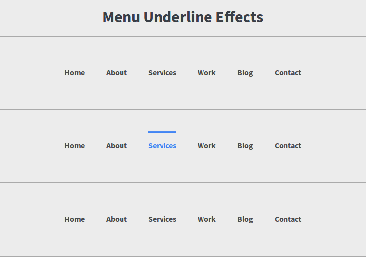 IMG: Beautiful Menu(Lines) Effects