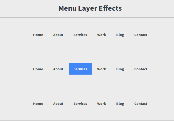 IMG: Beautiful Menu(Layer) Effects