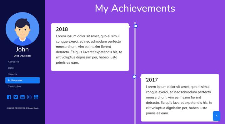 IMG: HTML5 Responsive CV Resume
