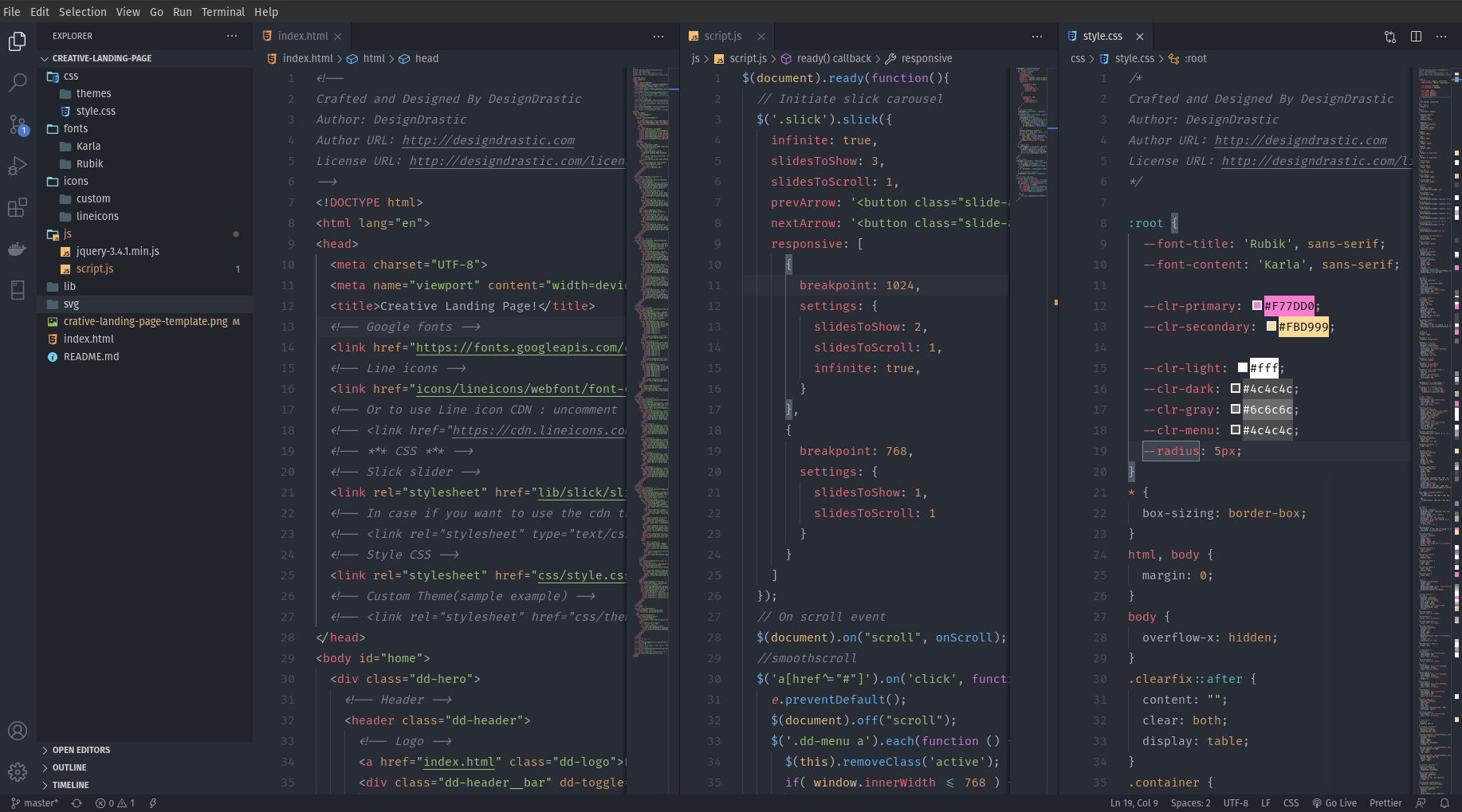IMG: Setup VS Code for Designer and Front-end Developers